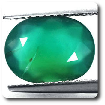 2.41 CT. GREEN AGATE . VVS1