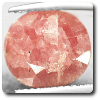 6.69 cts RHODOCHROSITE ROUGE ORANGE