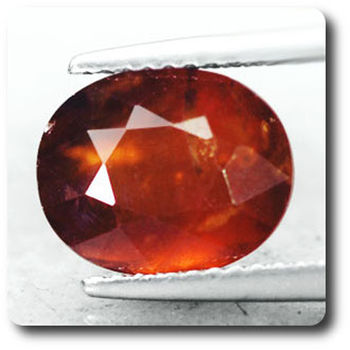 3.99 cts GRENAT HESSONITE  . SI1