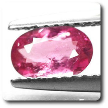 0.63 cts TOURMALINE ROSE . VS2