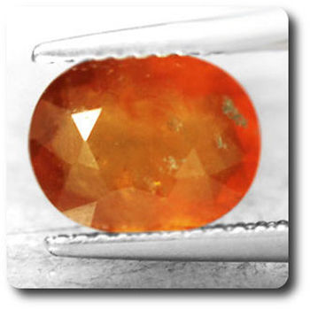 2.49 cts GRENAT HESSONITE  . SI1