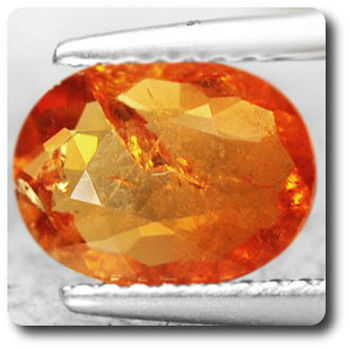 1.84 cts GRENAT SPESSARTITE ORANGE. SI1