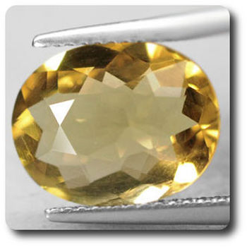 3.34 CT. NATURAL YELLOW QUARTZ . VVS1