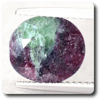 3.96 CT.  RUBY ZOISITE ANYOLITE