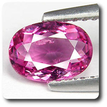 0.74 cts TOURMALINE RUBELLITE ROSE . VS