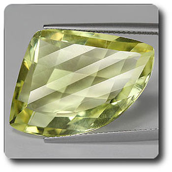 21.48 cts ORTHOSE FELDSPATH JAUNE. IF