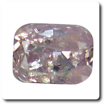 0.09 cts DIAMANT ROSE VIOLET  . I1