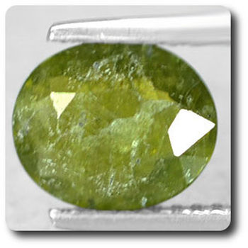 1.56 cts GRENAT HYDROGROSSULAIRE . SI1