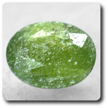1.40 cts GRENAT HYDROGROSSULAIRE . SI1