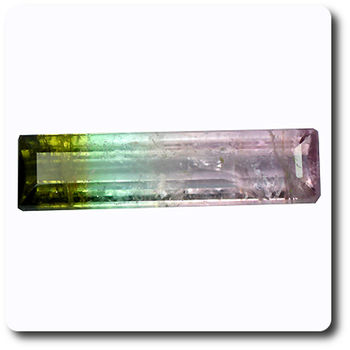 0.62 cts  TOURMALINE MELON D' EAU . VS2