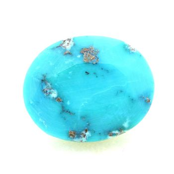 12.00 cts  TURQUOISE BLEU + PYRITE