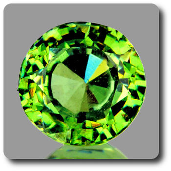 0.33 CT.  DEMANTOID GARNET. VVS