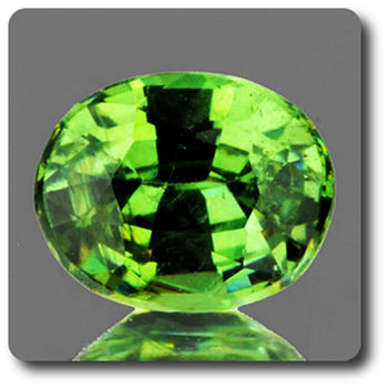 0.67 CT.  DEMANTOID GARNET. VVS