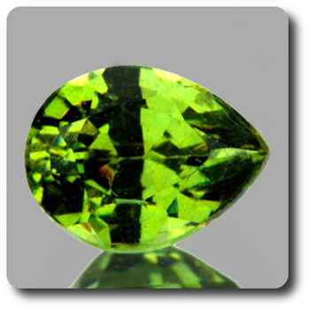 0.63 CT.  DEMANTOID GARNET. VVS