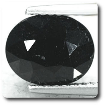 3.47 cts  SPINELLE NOIR
