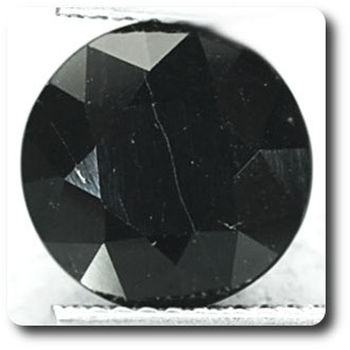 4.42 cts  SPINELLE NOIR
