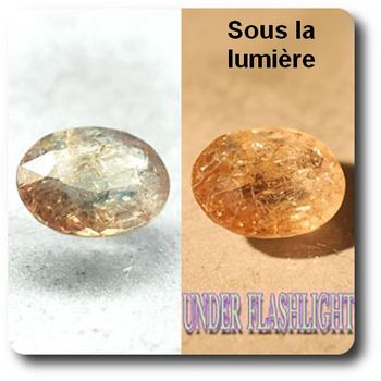 1.77 cts AXINITE (Fe) COULEUR CHANGEANTE . I1