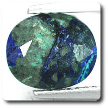 2.23 CT.  MALACHITE AZURITE