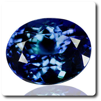5.20 CT. BLUE TANZANITE. IF