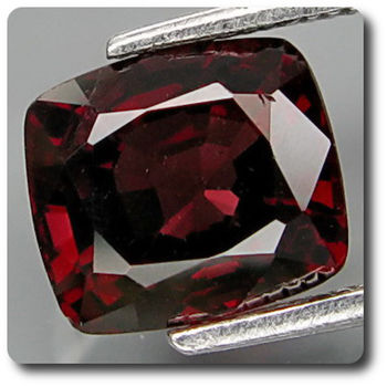 1.93 CT.  RED  SPINEL . VS