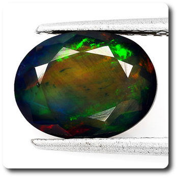 2.44 CT.  NATURAL BLACK OPAL