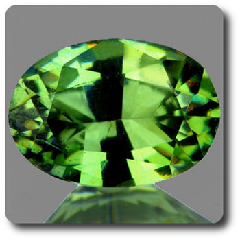 0.41 CT.  DEMANTOID GARNET. VVS