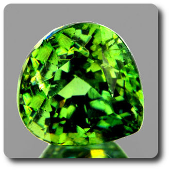 0.50 CT.  DEMANTOID GARNET. VVS