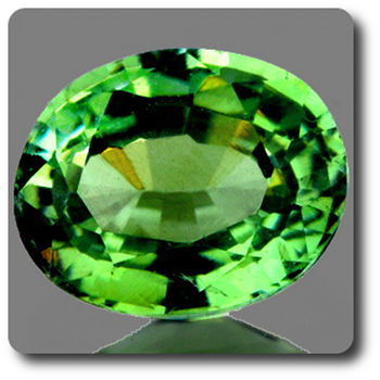 0.34 CT.  DEMANTOID GARNET. VVS