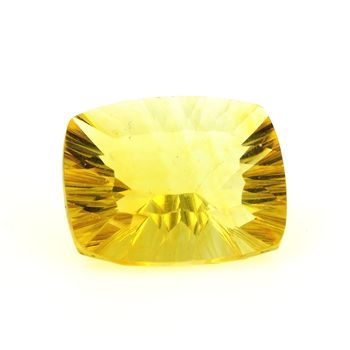 34.89 CT. NATURAL YELLOW FLUORITE. VVS1