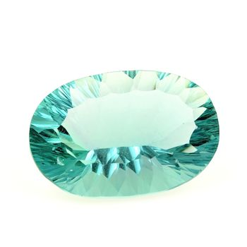 44.12 CT. NATURAL GREEN FLUORITE. VVS1