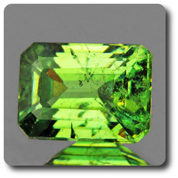 0.58 CT.  DEMANTOID GARNET. VVS