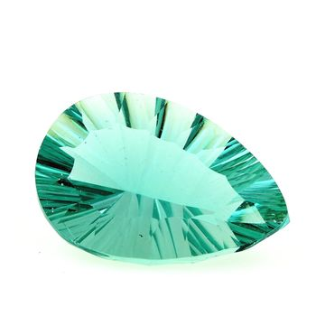 31.22 CT. NATURAL GREEN FLUORITE. VVS1