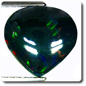 1.70 CT.  NATURAL BLACK OPAL