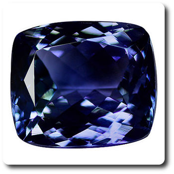 4.03 CT. BLUE TANZANITE. IF