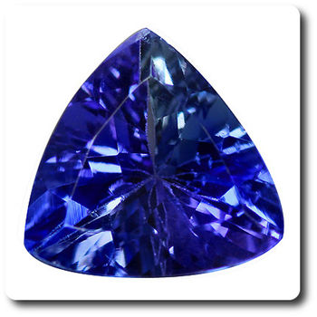 1.77 CT. PURPLE BLUE TANZANITE. IF