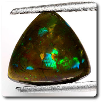 2.50 CT.  NATURAL BLACK OPAL