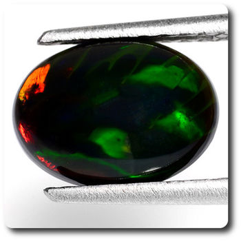 2.06 CT.  NATURAL BLACK OPAL