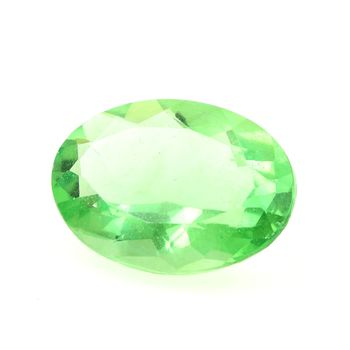 19.51 CT. NATURAL GREEN FLUORITE. VVS1