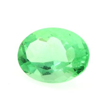 27.32 CT. NATURAL GREEN FLUORITE. VVS1