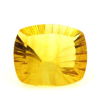 48.87 CT. NATURAL YELLOW FLUORITE. VVS1