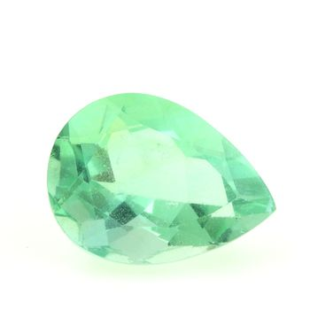 38.50 CT. NATURAL GREEN FLUORITE. VVS1