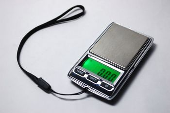 Digital 500 x 0.01g Jewelry Pocket weight Balance Scale