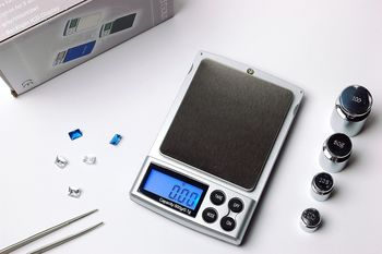 Digital 500 x 0.1g Jewelry Pocket weight Balance Scale