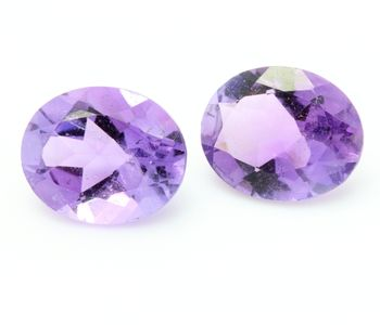 4.23 CT. 2 piece PURPLE AMETHYST . VVS1