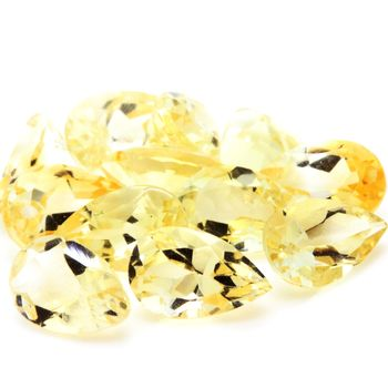 YELLOW CITRINE. VVS1 ( 1 piece )