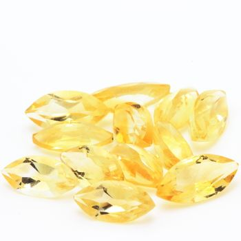 YELLOW CITRINE. Marquise - VVS1 ( 1 piece )