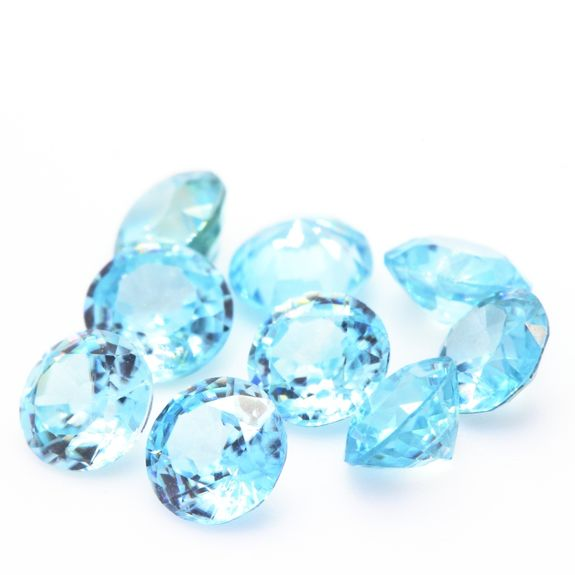 NATURAL BLUE ZIRCON. IF