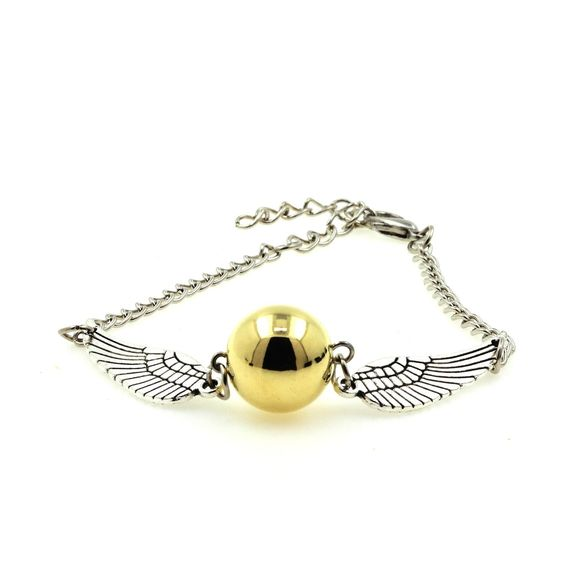 Bracelet Harry Potter ailes d'ange Quidditch