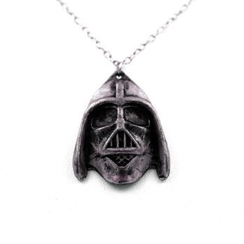 Pendentif Collier Star Wars Darth Vader Helmets métal