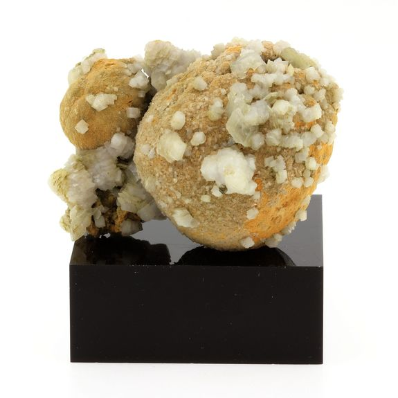 Siderite and Calcite.